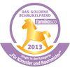 Oceněno německou prestižní cenou Das goldene Schaukelpferd 2013.